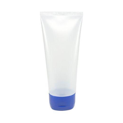 Bisnaga-plastica-natural-250ml-com-tampa-azul-escuro