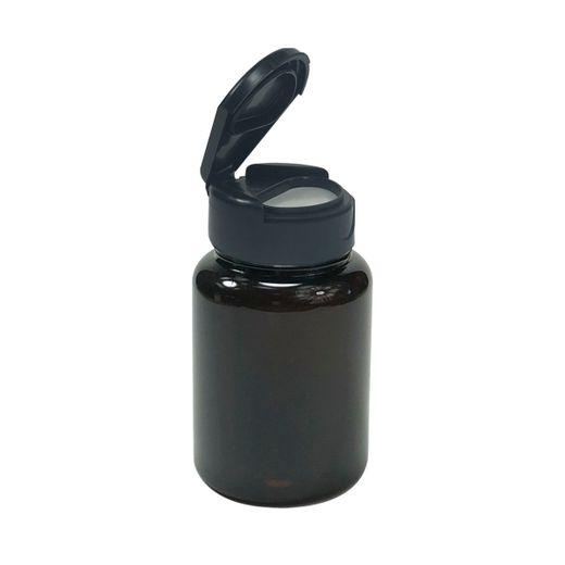 Pote-Para-Capsulas-Pet-100ml-preto-com-tampa-preta